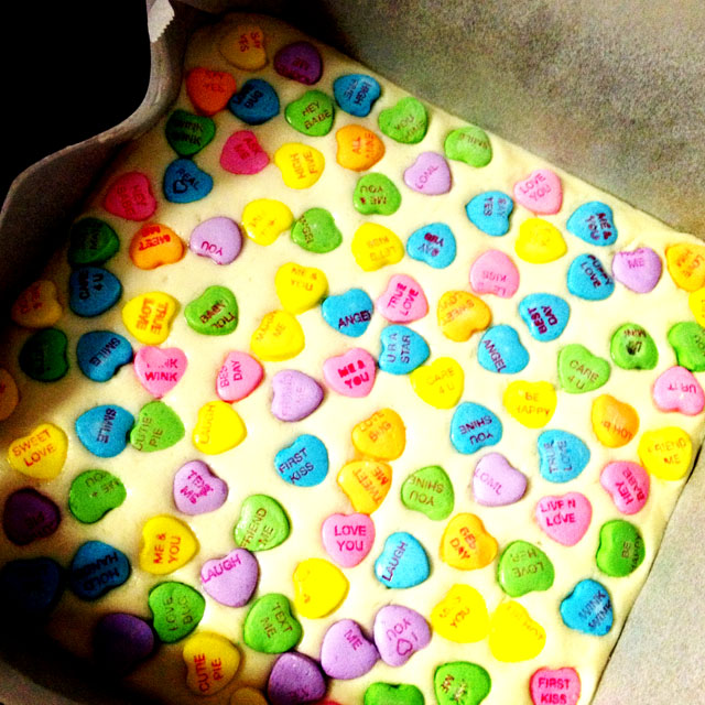 Sweetheart Fudge by Laura @ Pink Cake Plate