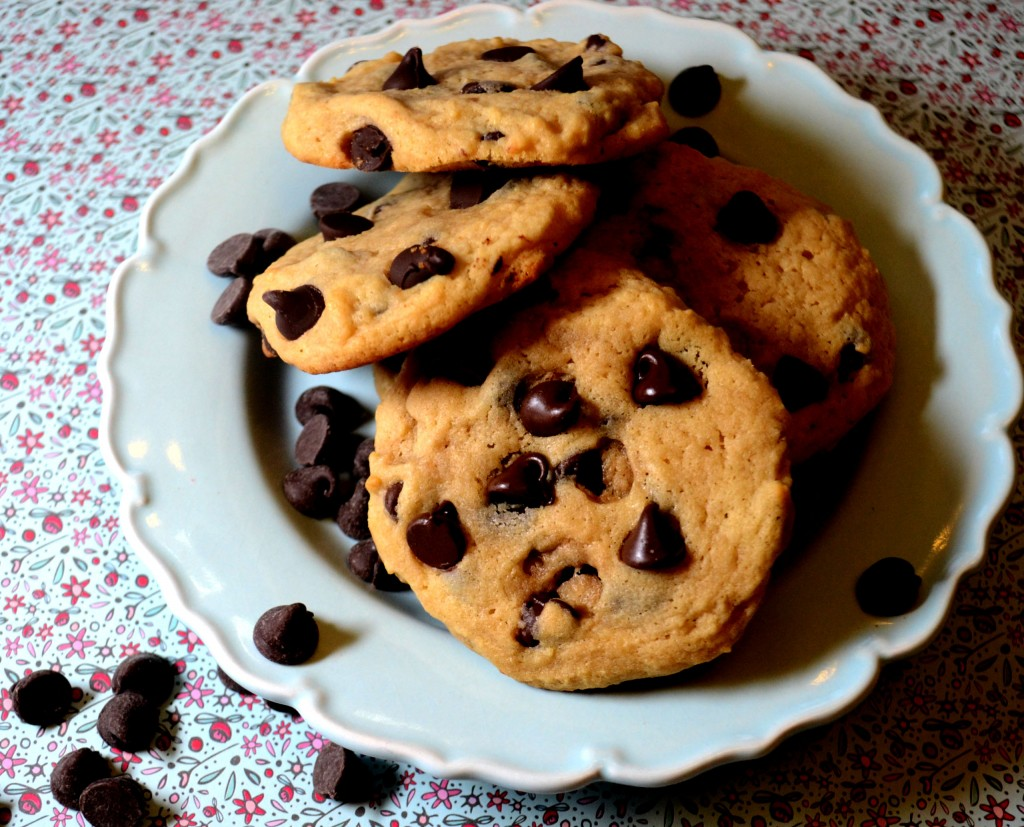 Sweet Potato Chocolate Chippers @ pinkcakeplate.com