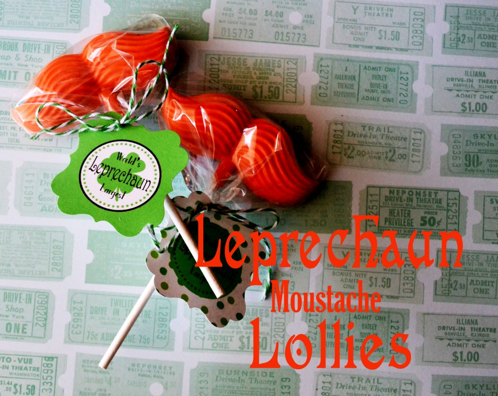 Now that Valentine's Day is over its time to move on to the next holiday! St. Patrick's Day! I just love holidays all holidays and I love to make quick and easy holiday treats! These Leprechaun Mustache Lollies are not only adorable but so easy to make!! I just love them!! Plus I have the free printable tag for you too!