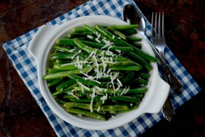 Summer Grilling Fun and Garlic Green Beans {Recipe}