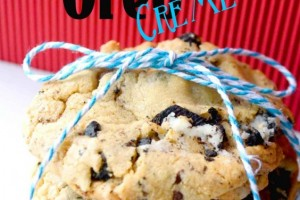 My New Favorite Cookie!! Chocolate Chip Oreo Cremes! {Recipe}