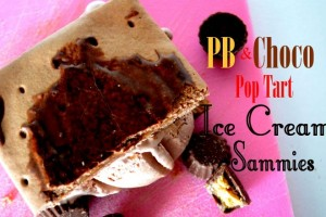 Pop Tart Ice Cream Sammies!!! Super Easy Treat!!!