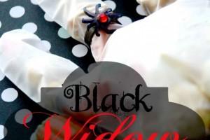 Black Widow Ring!! Super Cute Halloween Favor!!