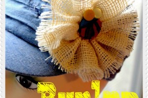 Burlap Flower Tutorial!! Easy 30 Minute Craft!