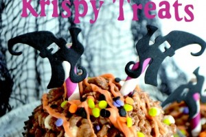 Crash Landing Krispie Treats~Quick and Easy Halloween Treat!!!