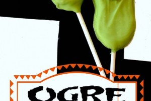 Ogre Toes on a Stick!! Easy treat or Party Favor!!
