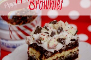 Peppermint Bark Brownies!! Oh Ya!! Bring on the YUM!!