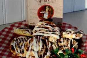 American Heritage Chocolate~Chocolate Almond Pinwheels