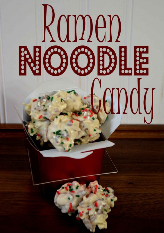 Ramen Noodle Candy Recipe Pink Cake Plate