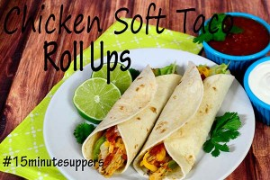 Roll Up Chicken Taco Recipe