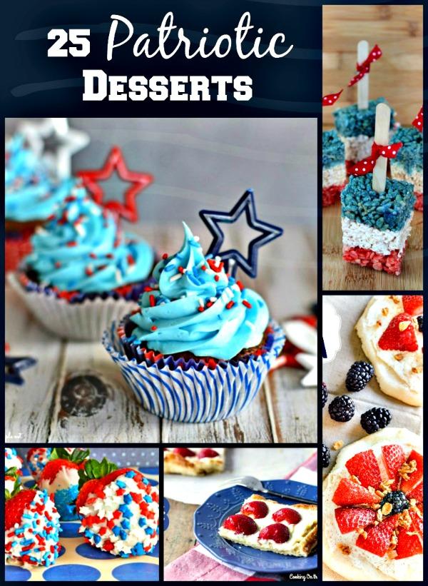 25 patriotic desserts pinkcakeplate.com