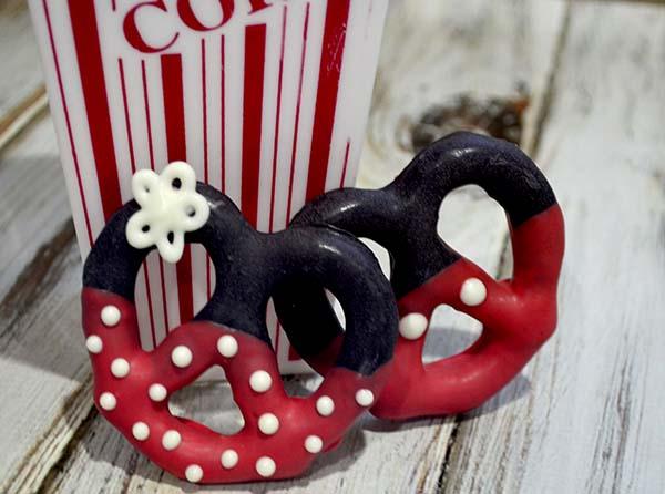Disney Inspired Mickey And Minnie Pretzel Twists