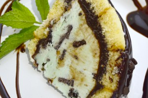 Mint Twinkie Ice Cream Bombe~Recipe