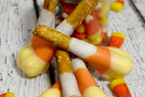 Candy Corn Matchsticks