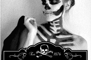 Chic Skeleton~ Easy Make-up Tutorial
