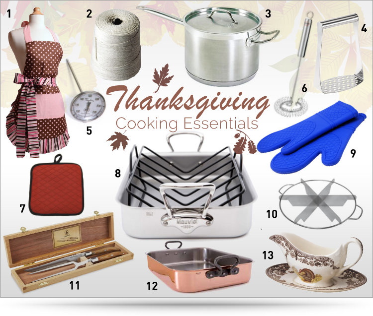 Thanksgiving Kitchen Must Haves