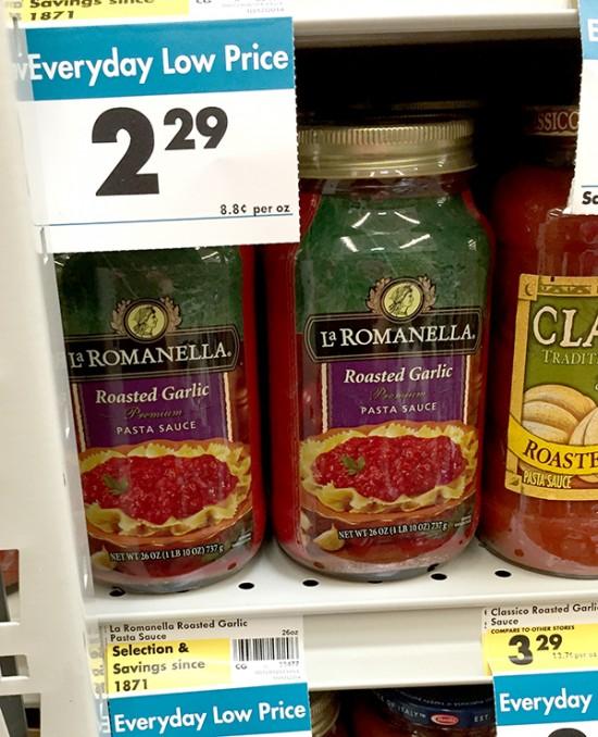 laromanella pasta sauce