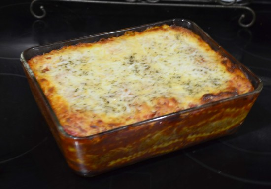 make ahead ravioli bake 4