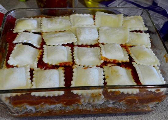 make ahead ravioli bake step 6