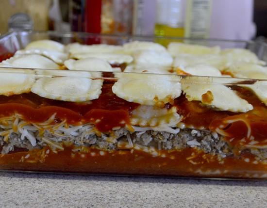 make ahead ravioli bake step 7