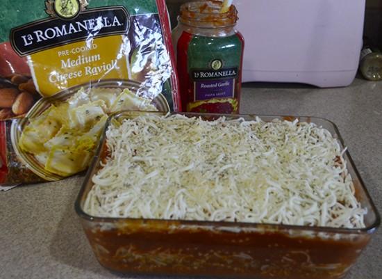 make ahead ravioli bake step 8