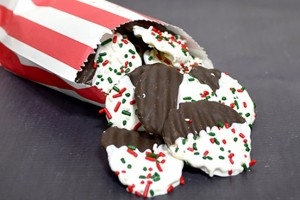 Chocolate Covered Potato Chips~Day 9 of 12 Days of Christmas Candy