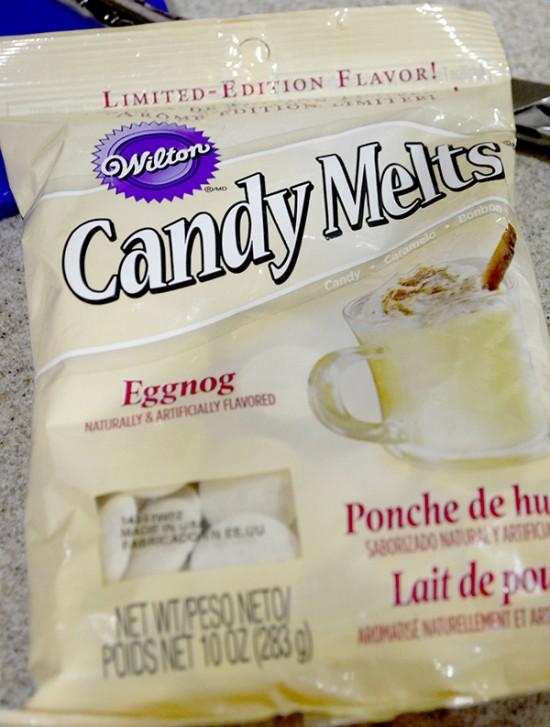 eggnog candy melts