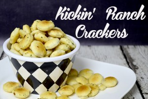 New Years Eve Kickin' Ranch Crackers~Recipe