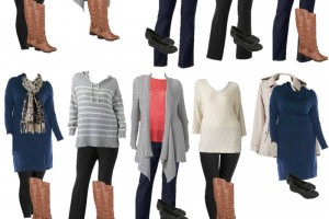Plus Size Mix and Match Winter Fashion! Great Wardrobe Pieces!!
