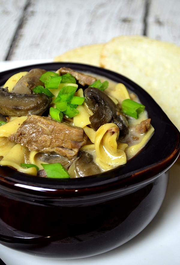 slow cooker beef stroganoff soup1