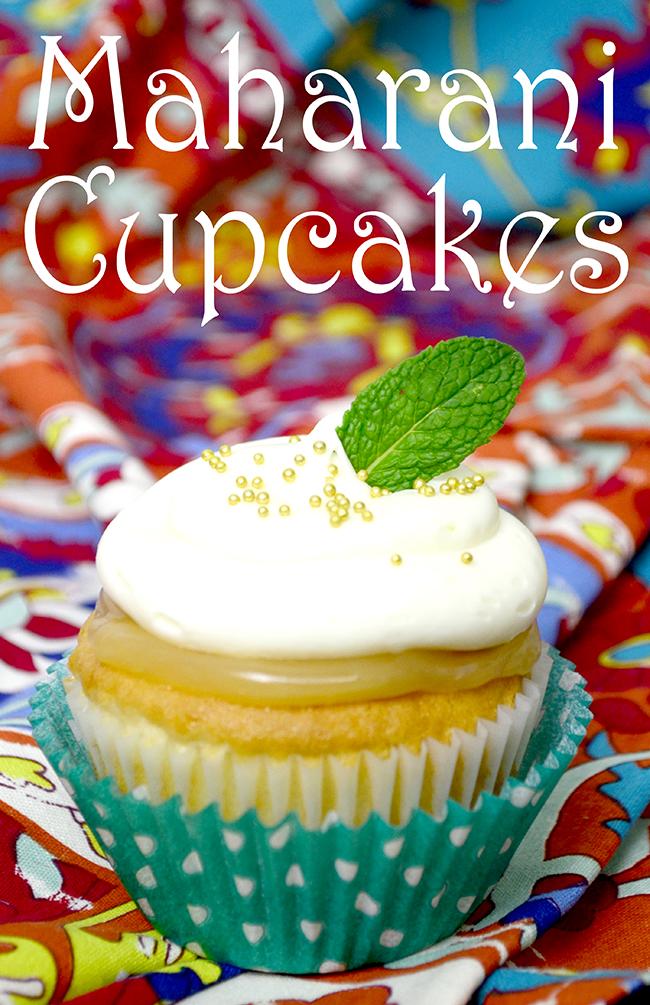 The Second Best Exotic Marigold Hotel Maharani Cupcake Recipe