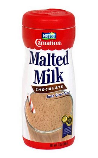 chocolate malted milk powder