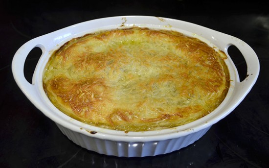 rustic chicken carbonara pot pie11