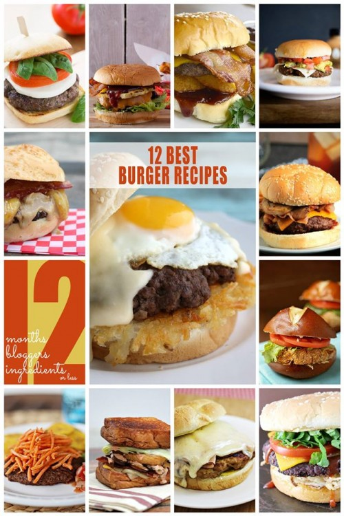 12 bloggers burgers