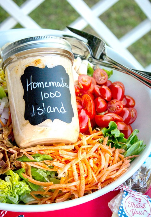 4th-of-July-Party- cobb salad