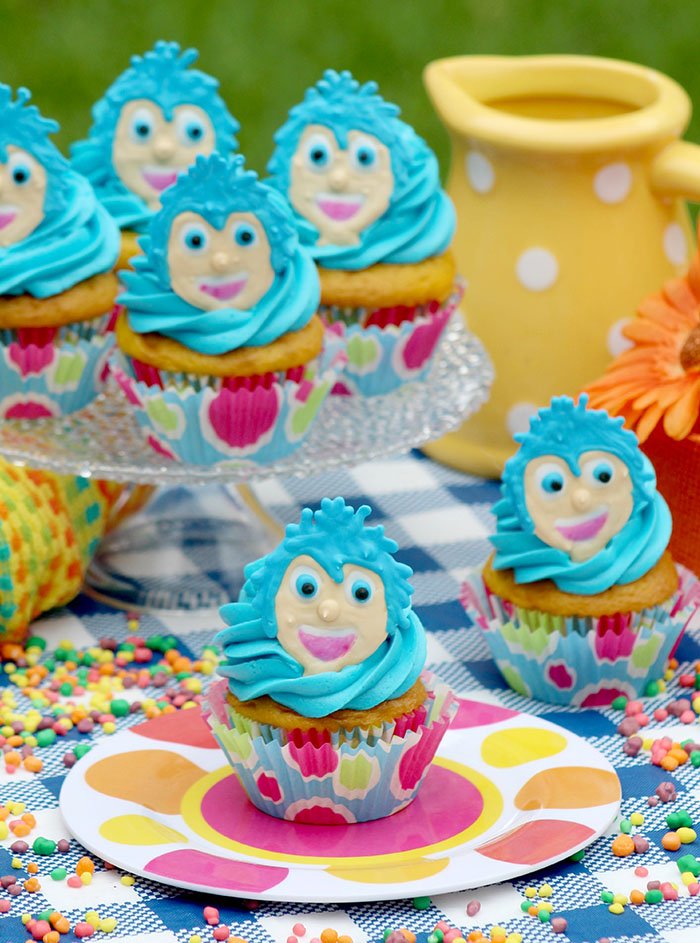 DisneyPixars Inside Out Movie Joy Inspired Cupcakes