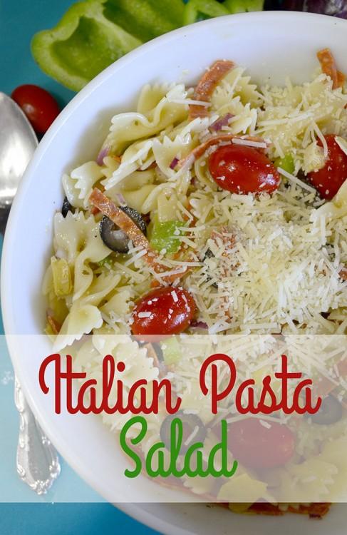 Italian Pasta Salad hero