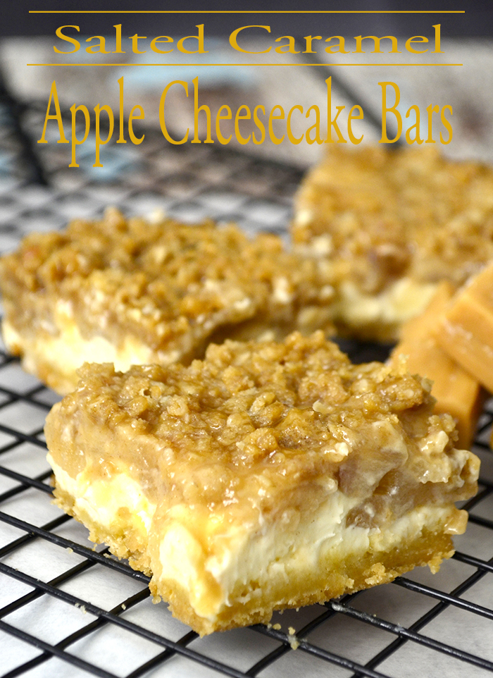 salted caramel apple cheesecake bars 2