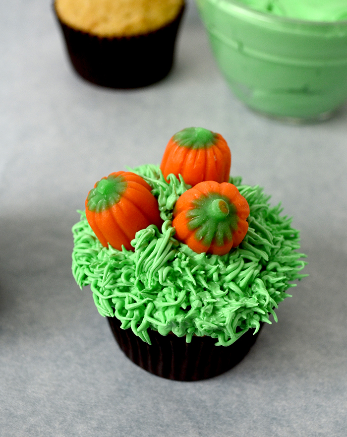 pumpkin patch cupcakes 4
