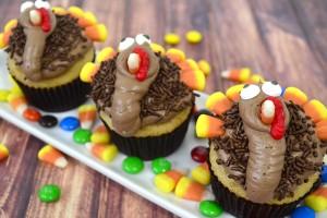 Tom Turkey Cupcake Tutorial