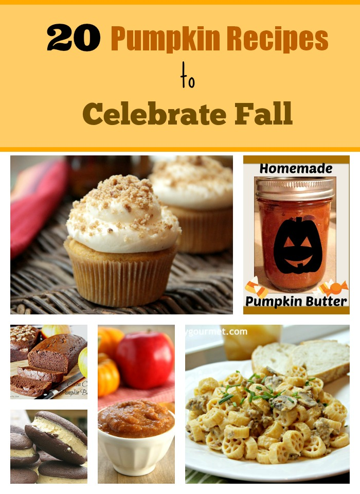 20 Pumpkin Recipes to Celebrate  Fall 1