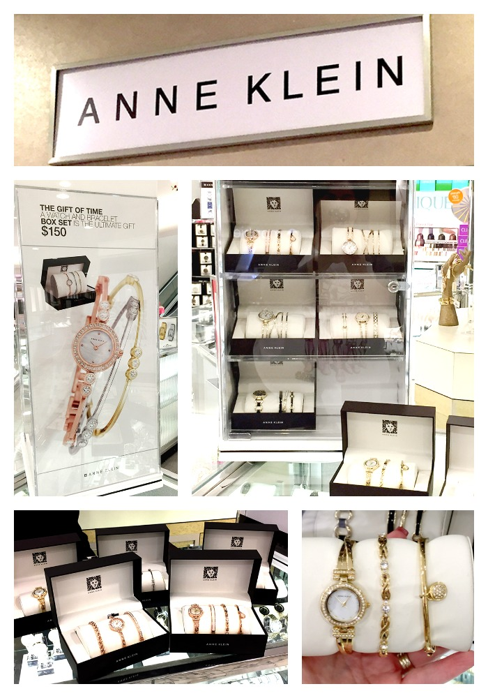 anne klein in store collage