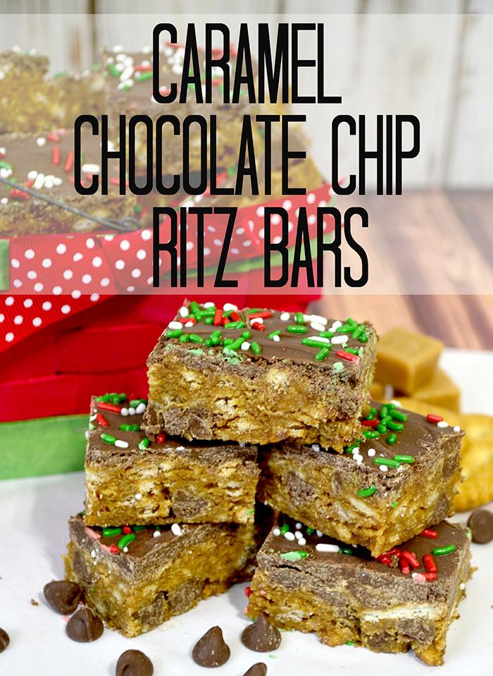caramel milk chocolate ritz bars  4