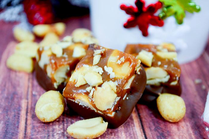 caramel peanut chews 3