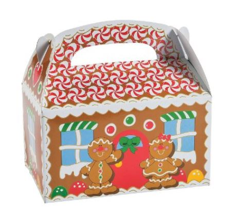 gingerbread treat boxes