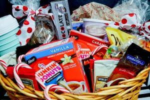 Holiday Cheer Gift Baskets with Dunkin' Donuts®!