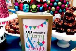 Merry & Bright Birthday Party