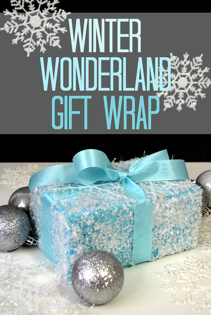 winter wonderland gift wrap hero