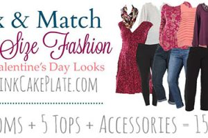 Plus Size Valentines Mix & Match Fashion