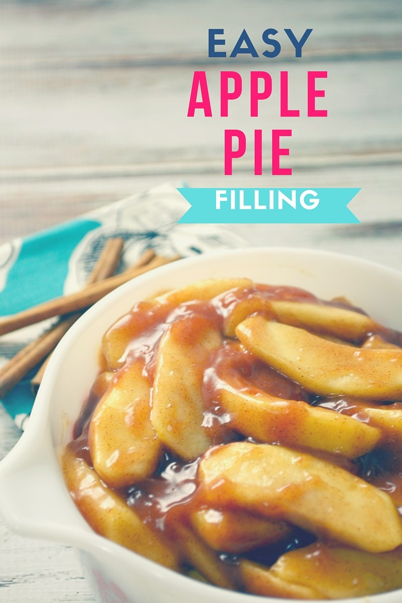 Canned Apple Pie Filling Cake